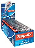 Tipp-Ex Mini Pocket Mouse Korrekturroller / Korrekturband 6 m x 5 mm / 10er Pack in praktischer Displaybox