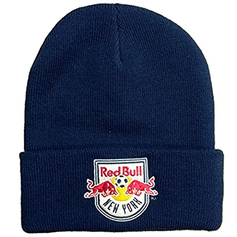 Mitchell & Ness Beanie Cuff Knit Red Bull New York navy