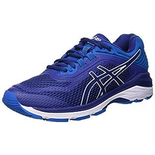 ASICS Men's's Gt-2000 6 Running Shoes Print/Race Blue 400, 11 UK