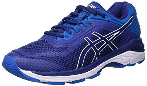 Asics Gt-2000 6, Zapatillas de Entrenamiento para Hombre, Azul Print/Race Blue 400, 47 EU
