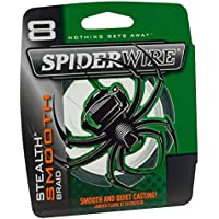Spiderwire Stlth Angelschnur Ultracast – Stealth Glatt 8 – Moosgrün – 300 M