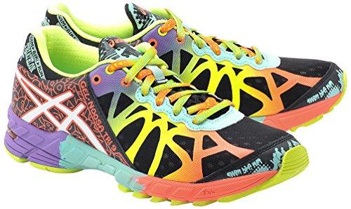 asics-womens-gel-noosa-tri-9-running-shoes-black-yellow-pink-orange-size-55