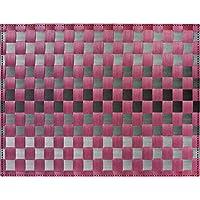 Saleen mantel individual inspiración, gris/morado, 30x 40cm
