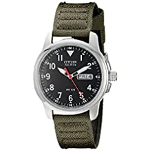 180 Eco-Drive Black Dial Cloth Strap