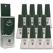 12 Bottles Quimica Alemana Nail Hardener 0.47 Oz by Quimica Alemana