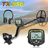 fghdfdhfdgjhh Ajuste TX-850 Detector de Metales Profesional Detector de Profundidad subterráneo de 2,