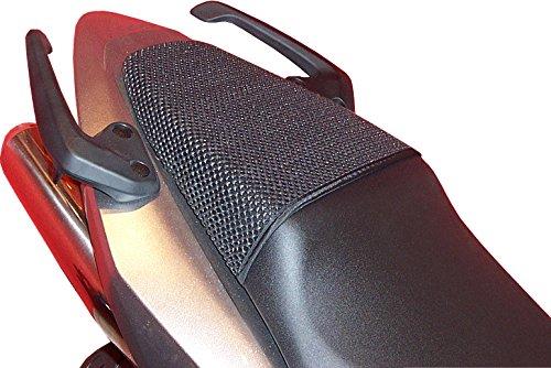 Honda VFR800VTEC (2001–2012) triboseat sillín pasajero antideslizante Negro
