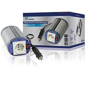 HQ Onduleur 150 W/12 V-230 V avec port USB