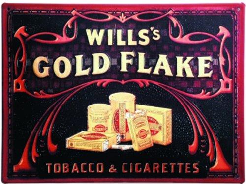 schild-alu-artdeco-wills-gold-flake-grosses-format-300x400mm