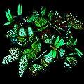 20 Stück Garten Schmetterlinge Stangen und 4 Stück Libellen Stangen Garten Ornamente für Hof Patio Party Dekorationen, Insgesamt 24 Stück von Shappy bei Du und dein Garten