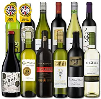 Laithwaite's Wines Best Selling Red and White Mix - (Case Of 12)