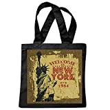 Tasche Umhängetasche Liberty Freiheitsstatue Empire State Building New York City Amerika California USA Route 66 BIKERSHIRT NY Motorcycle NYC Liberty VEREINIGTE Staaten Bronx Brooklyn LOS Angeles MA