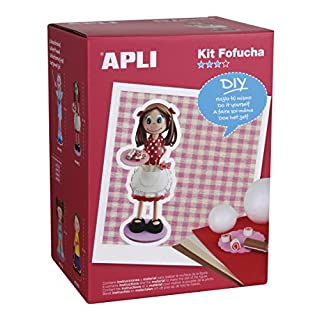 APLI apli13848Gebäck Macht Schaumstoff Puppe Kit