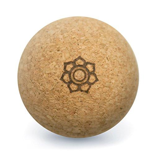 Harmony Ball® Kork Massageball - Hautfreundlich und 100{2c8a63d48ac62eebee276817686a58cf0a8f86a8719e8eb38626d76ff0c7f201} ökologisches Naturprodukt für Faszien-/Selbstmassage - Made in EU