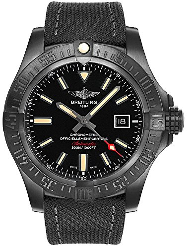Reloj de los hombres Breitling Avenger Mirlo v1731010/bd12-100w