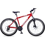 Hero Octane 26T Dude is an awesome hard tail bike featuring 18 inches alloy frame with a suspension fork. This cycle is ideal for cyclist with height between 5 Feet 4  inches to 6 Feet 4  inches. It has disc brakes in the rear and comes with a stand.
