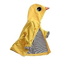 Kingko_ Unisex Kids Animal Raincoat Cute Cartoon Jacket Hooded Zip Up Coat Outwear Baby Clothes School Oufits (24 Months)
