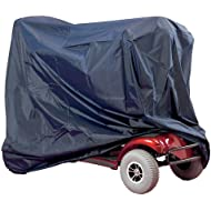 Waterproof Mobility Scooter and Wheelchair Storage Cover Heavy Duty Rain Protection