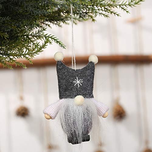 Mitlfuny Christmas,Weihnachtsdekoration,Christmas Decorations,Christmas Vacation,Schöne Christbaumschmuck Wollgarn Engel Puppe Anhänger Hanging Party