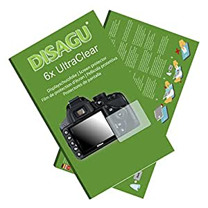 6x Ultra Clear Screen Protector for Nikon D3200