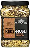 Layenberger Protein Keks-Müsli Schoko-Crunchy, 1er Pack (1 x 530 g)