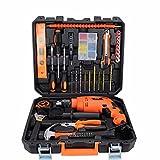 COLLECTOR Extension manuellement fly outil outil métallique set coffret Toolbox dons de voiture ménage tool kits,Flex-perceuse-visseuse