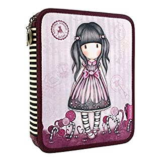 Gorjuss Sugar and Spice Double Filled Pencil Case