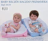 Bebé recién nacido 37 cm. vinilo surtidos primavera Nines d'Onil