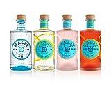 Malfy Gin Sparpaket - alle vier genialen fruchtig-spritzigen Gins von Malfy