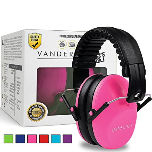 Best Kids Headphones Ear Defenders Adjustable Padded Headband Noise Reduction