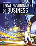 Mylab Business Law With Pearson Etext -- Access Card -- for Legal Environment of Business: Online Commerce, Ethics, and Global Issues...