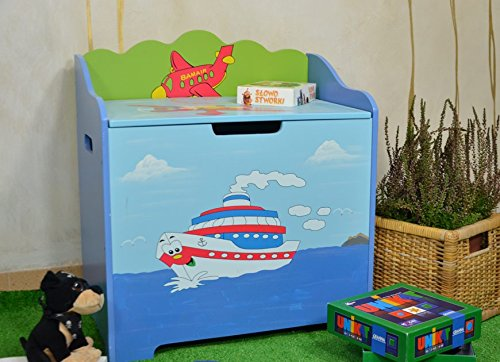 Cassapanca Legno Per Bambini.Antyki24 Arredo Camera Dei Bambini Box Panca Cassapanca Bambini