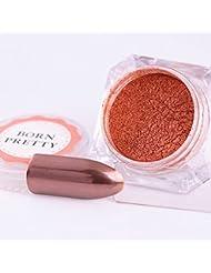 Born Pretty 1 Kasten 2g Rose Gold Spiegel Powder Maniküre Nail Art Glitzer Chrom Pigment