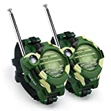 Color You Walkie Talkie for Kids, Two-Way Radio Walky Talky Watches with Flashlight