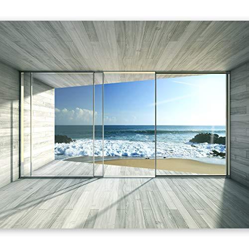 Fototapete Holz 3D