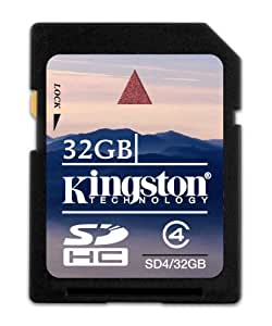 Kingston Speicherkarte SD4/32GB SDHC Klasse 4-32GB