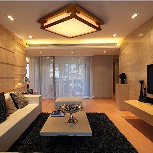 Modern Simplicity Deckenleuchte LED Massivholz Schlafzimmer