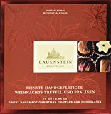 Lauenstein Confiserie  Weihnachtstrüffel und Pralinen 6-fach sortiert ohne Alkohol, 1er Pack (1 x 75 g)