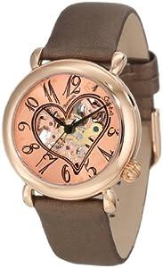Reloj Stuhrling Original 109.1245E14 de mujer automático con correa de piel marrón - sumergible a 50 metros de Stuhrling Original