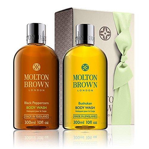 Molton Brown Pepe Nero e bushukan doccia regalo gel insieme