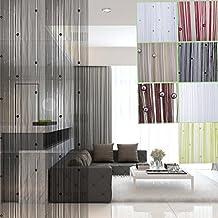 rideau fils perles blanc. Black Bedroom Furniture Sets. Home Design Ideas