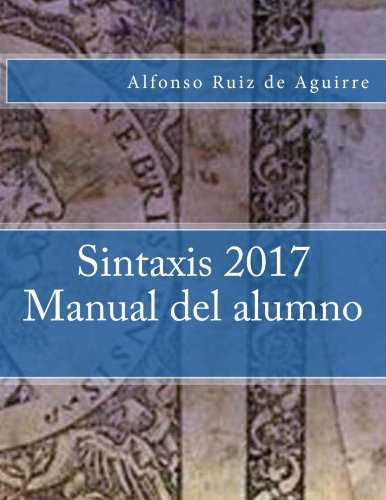 Sintaxis 2017 Manual