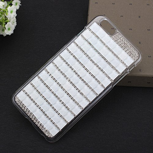 Case Cover Hot Luxe Bling Crystal strass pour iPhone 6 Plus rose