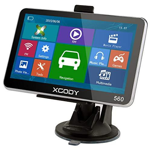XGODY 560 GPS,Navegador Para Coche De 5 Pulgadas Llamadas