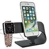 Marca:PUGO TOP Apple Watch Stand COMPATIBILITA APPLE WATCH Series1/Series 2: Compatibile con tutte le taglie ed i modelli di AppleWatch. (Contiene sia le versioni di 38 e 42 mm dei modelli Basic, Sport ed Edition). Può contenere sia i modelli...