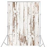 3x5ft Holz Planken Fotografie Hintergrund YJ-128