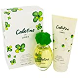 Parfums Gres Cabotine Gift Set - Eau De Toilette Spray + 6.7 oz Body Lotion For Women 3.4 Ounce