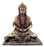 Collectible India Hanuman Idol Strength Sculpture - Cold Cast Bronze Sculpture - Bajrangbali Statue Decor Gifts