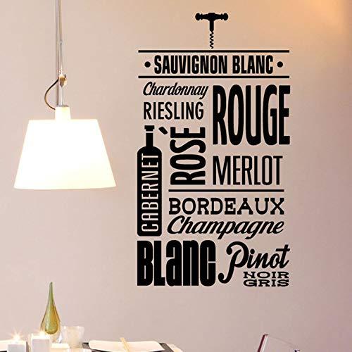 l Aufkleber Mode Aufkleber Für Küche Französisch Deco Für Esszimmer Dekoration 42X75 Cm ()