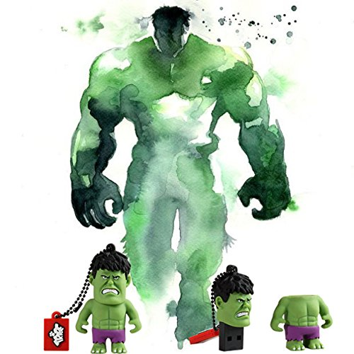 Tribe Fd016502 Marvel The Avengers Hulk 16gb Speicherstick Usb 20